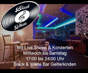 Black & White Bar und Radio Lounge Gelterkinden