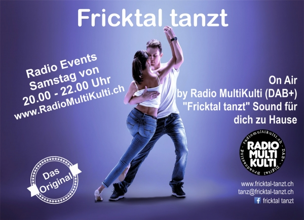 "Fricktal-Tanzt auf Radio MK MultiKulti DAB+ - ""stay home and dance"""